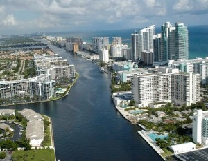 City of Fort Lauderdale, Broward County in Southeast Florida